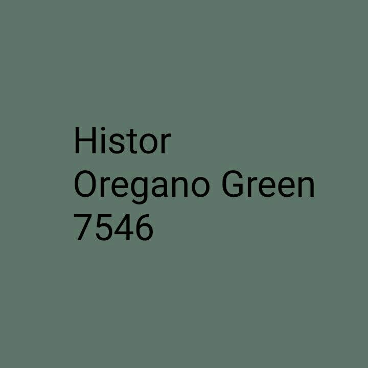 Histor Oregano Green 7546 paint colour
