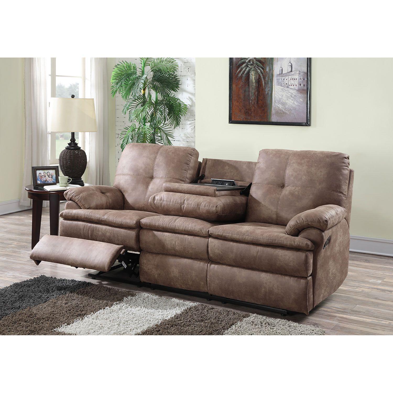 buck fabric reclining sofa choose color samus club