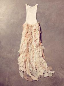 Free People Vintage Hand Made Dance Dress