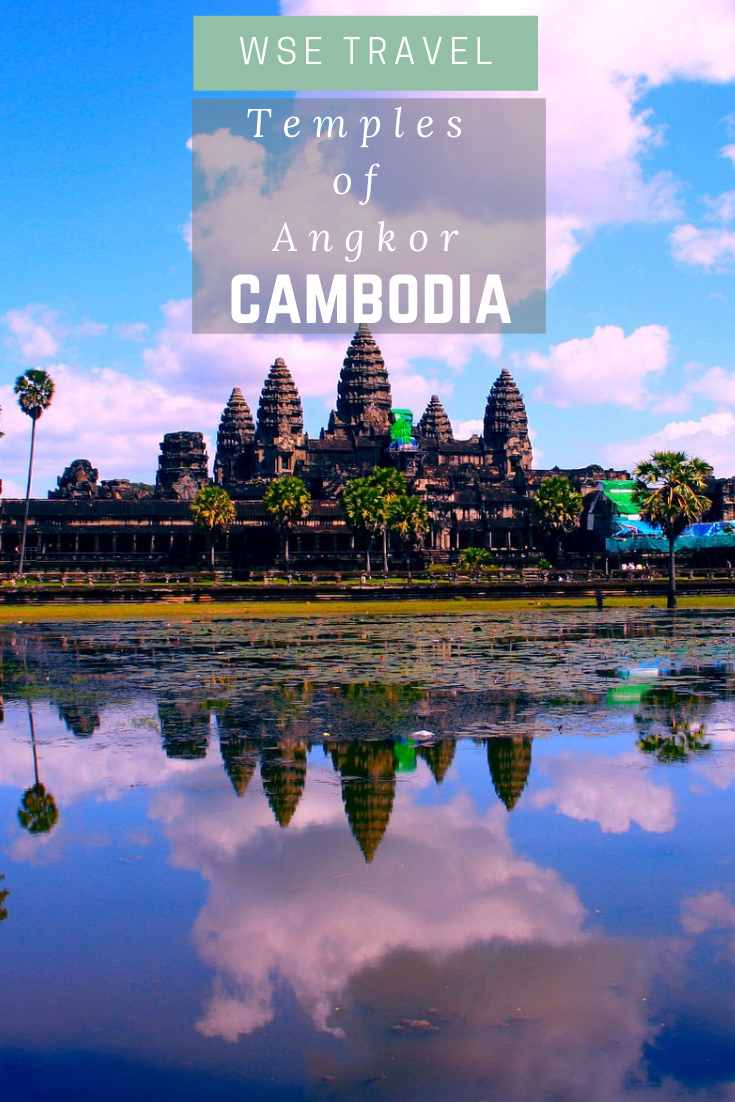Are you looking for a piece of ancient history? The Khmer Empire Temples are the place to visit. Experience an unexpected energy in the vast area of a thousand temples. Don't miss out on this opportunity. What to see in Cambodia | What to do in Cambodia | Travel to Cambodia | Temples of Angkor | #cambodia #travel #angkor #asia