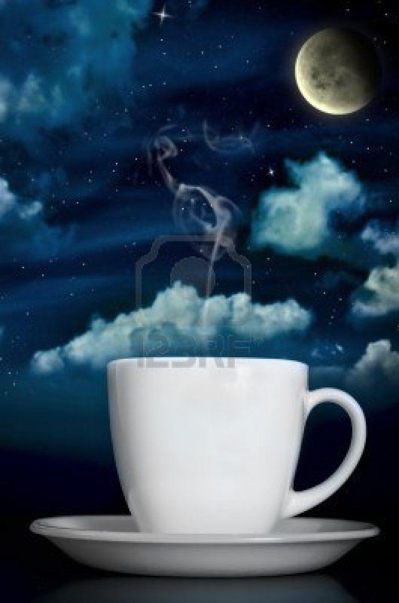 Анимации здоровья, картинки луна звезды чай