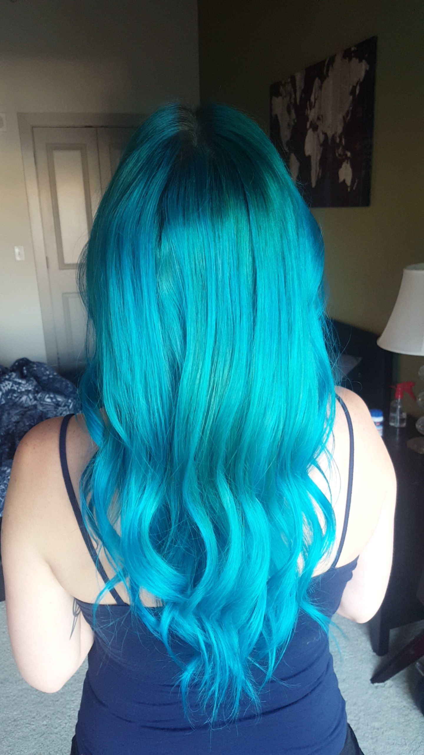 My New Favorite Hair Color Equal Parts Manic Panic Atomic