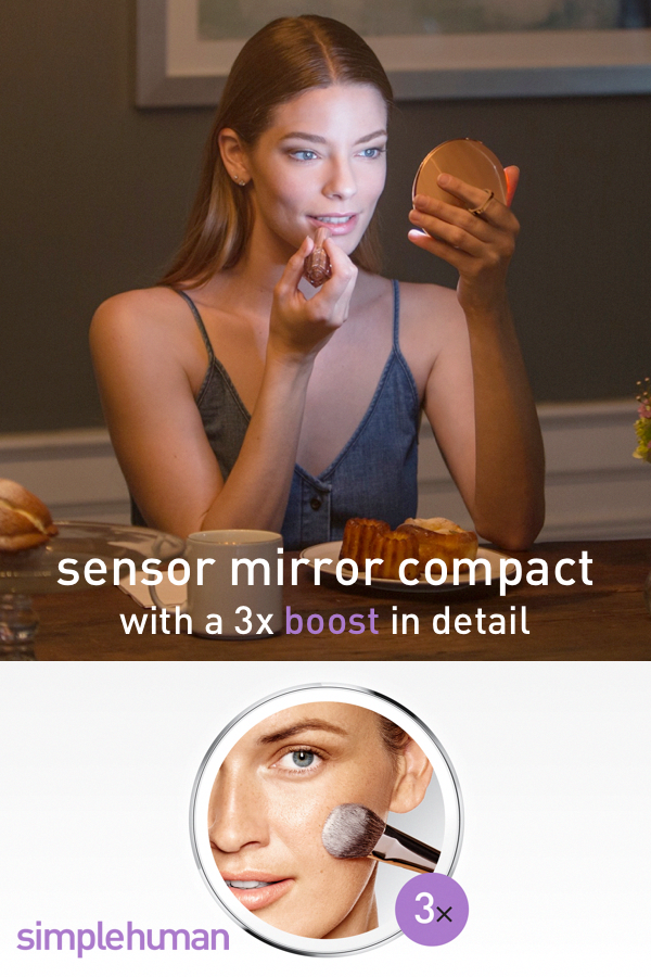 Take the best light with you. The sensor mirror compact
