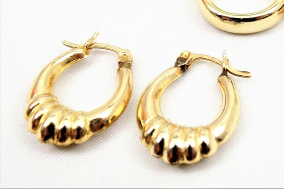 hoop latch sterling women asos earrings hinged dxyjxzb back design silver