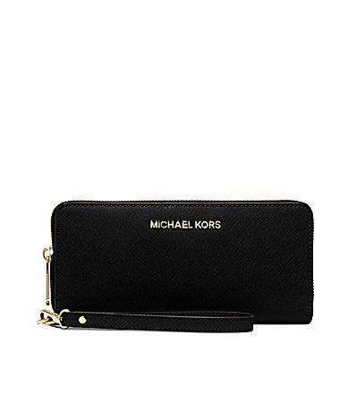 MICHAEL Michael Kors Jet Set Continental Multifunction Phone Wallet #Dillards