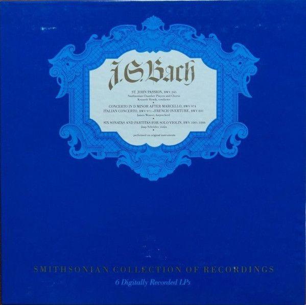 Johann Sebastian Bach - Saint John Passion BWV 245: buy 6xLP, Box at Discogs