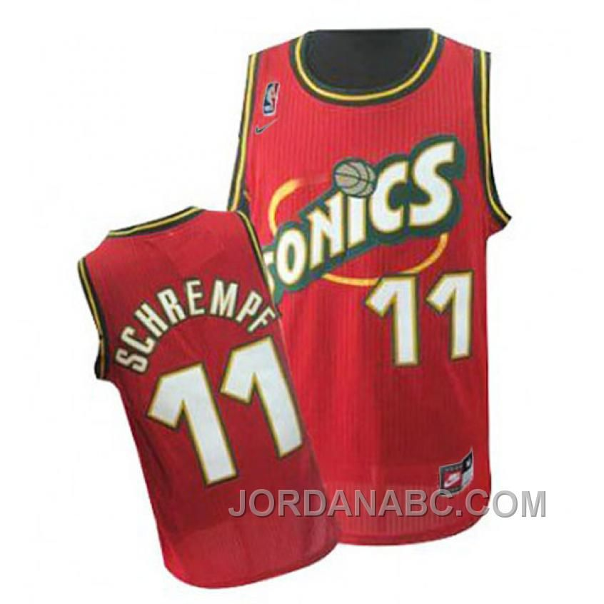 Discover the NIKE Detlef Schrempf Seattle SuperSonics Red Jersey Lastest  group at Footseek. Shop NIKE Detlef Schrempf Seattle SuperSonics Red Jersey  Lastest ... 567950345