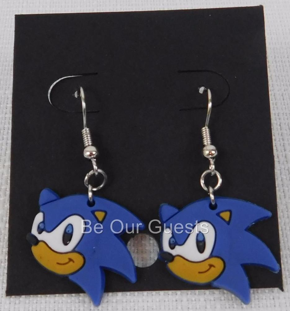 Sonic The Hedgehog Ear Rings Earrings R Monthly New Rmonthly