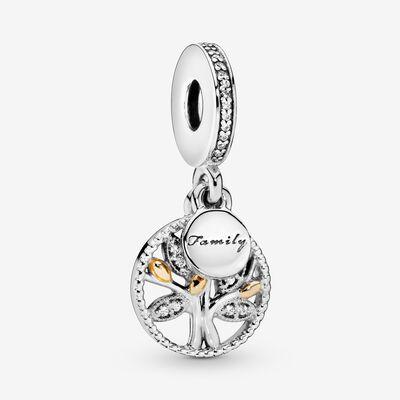 Family Heritage Dangle Charm With Cubic Zirconia Pandora Jewelry Dangle Charms Pandora Bracelet