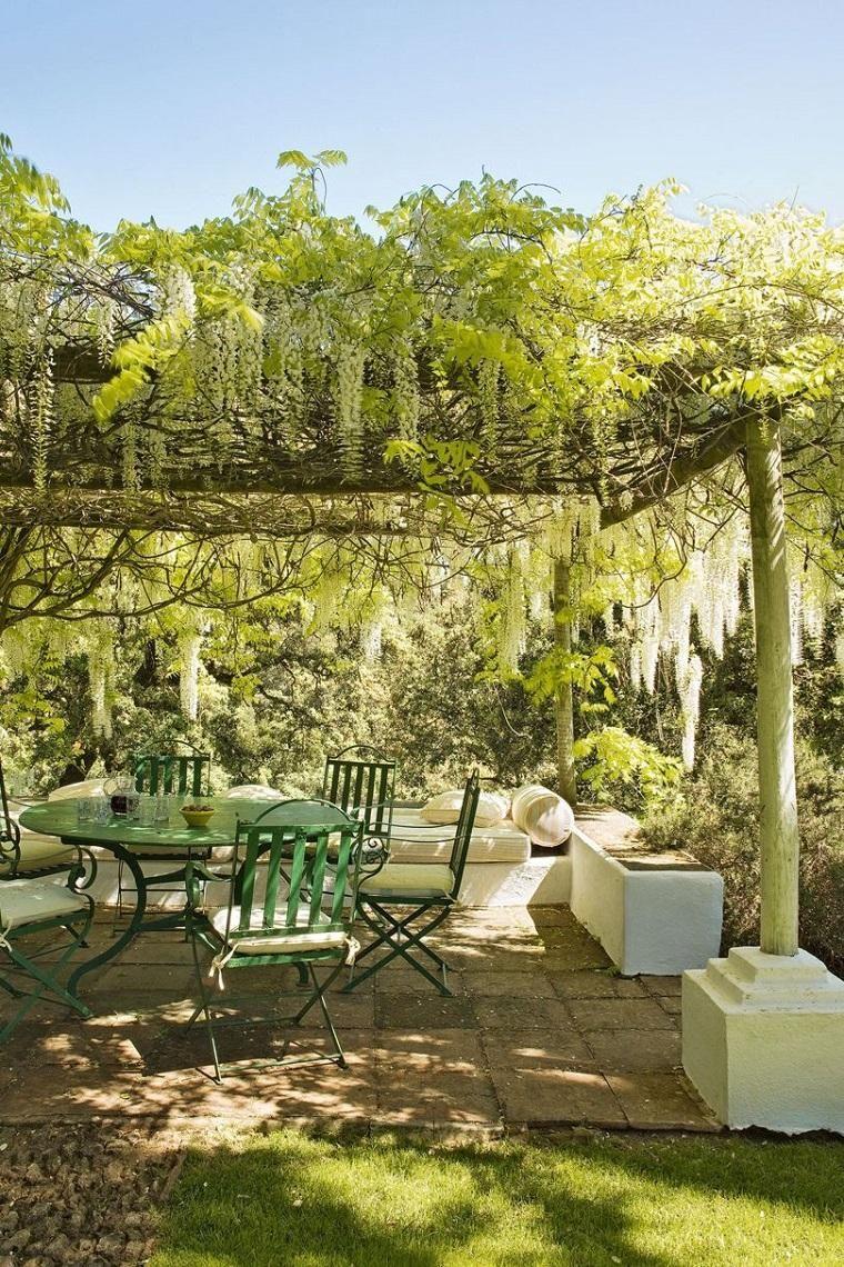 Ideen um einen rustikalen Garten zu schmücken Wie man