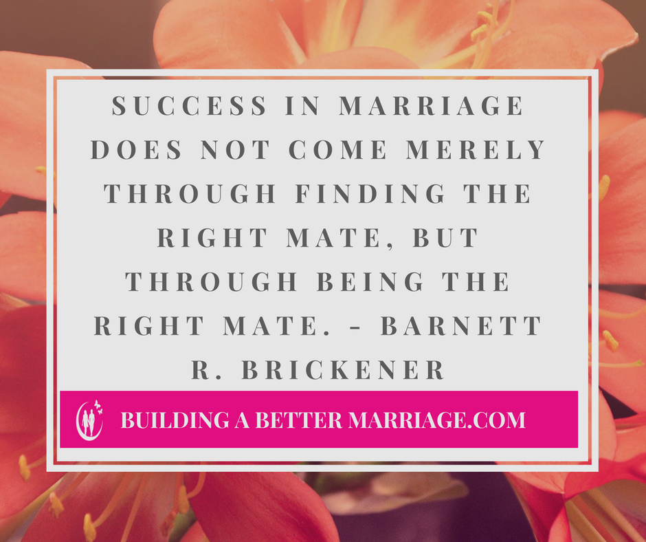Finding the right partner for marriage