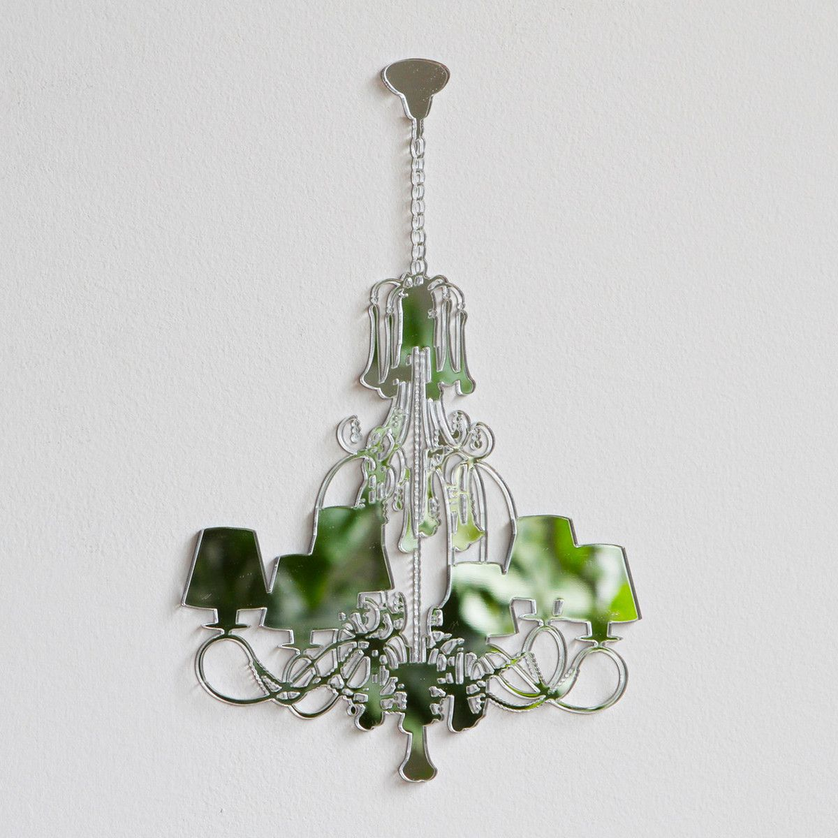 Lasercut mirror chandelier home pinterest laser cutting and lasercut mirror chandelier mozeypictures Gallery
