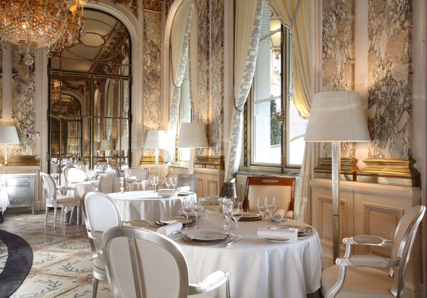 Five Star Restaurants In Paris France Restaurant Le Meurice Fine Dining