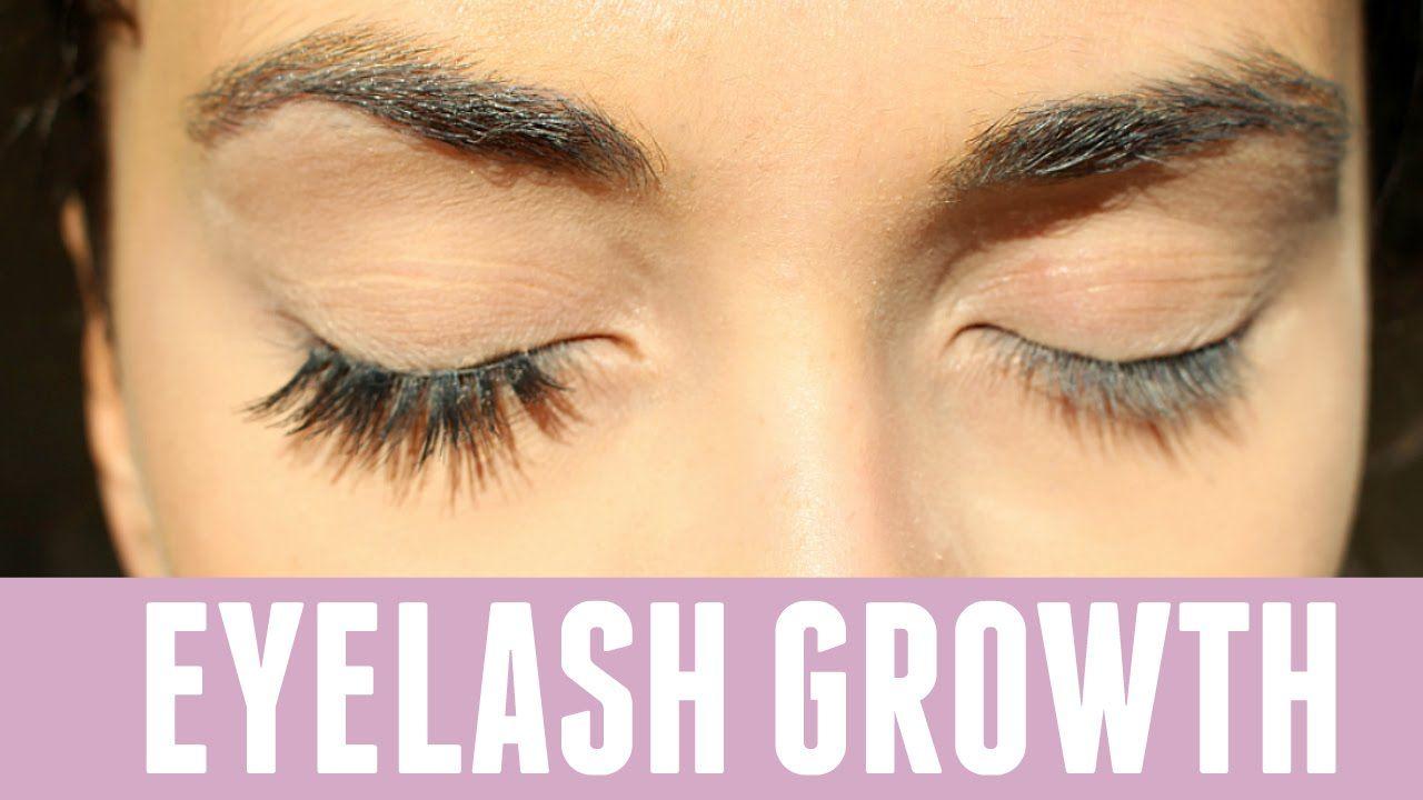 44e4e876c6e How To Grow Your Eyelashes Long Overnight FAST! Testing Pinterest Beauty.