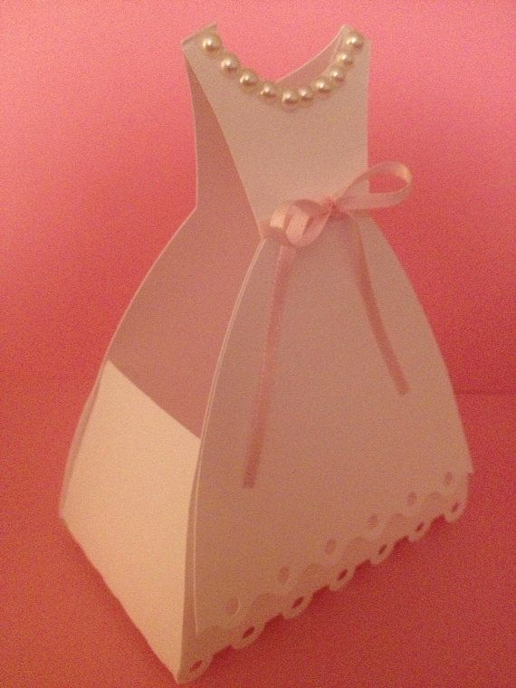 Set Of 10 Wedding Dress Favor Bo By Southernrosedesign On Etsy Birthday Favors Party