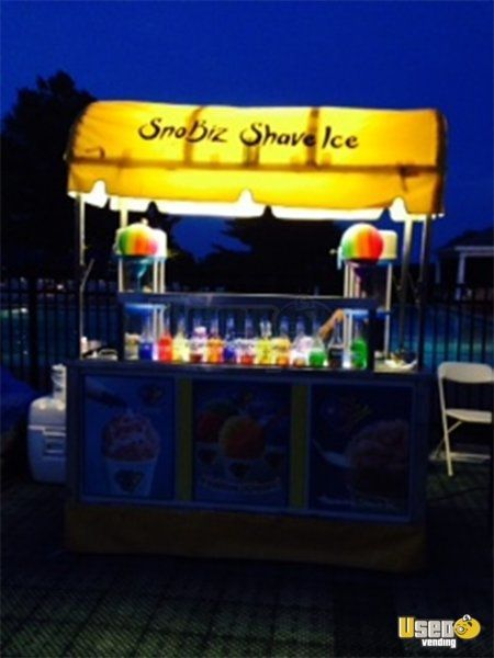 Shaved ice vending