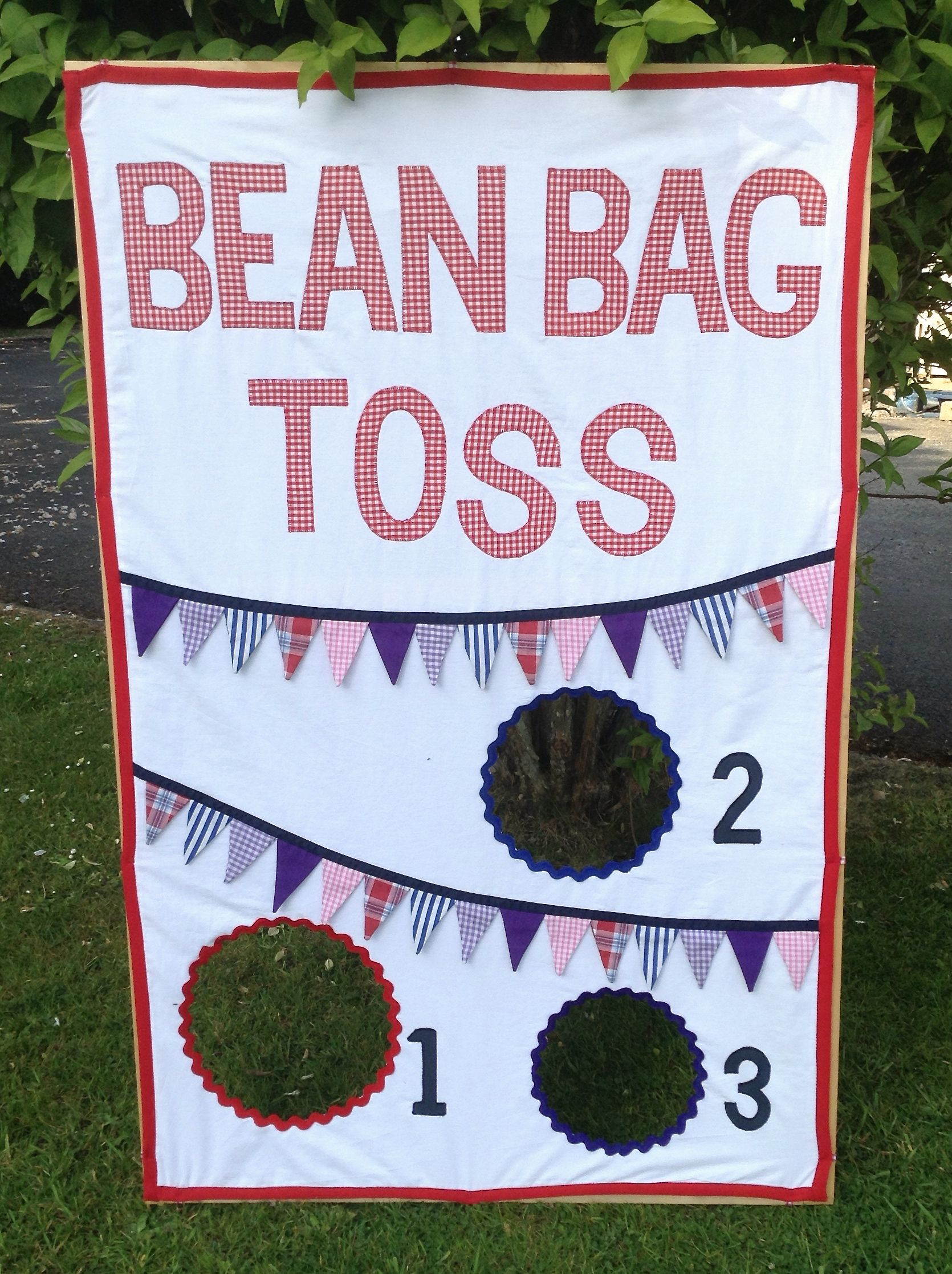 Made for the school fete.