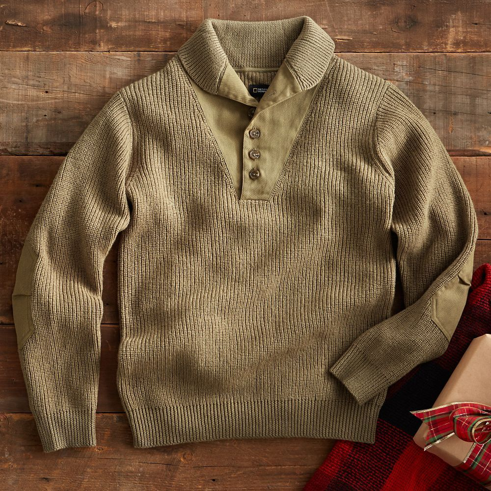 Genuine French army pullover Navy OD Olive Commando Jumper Military sweater