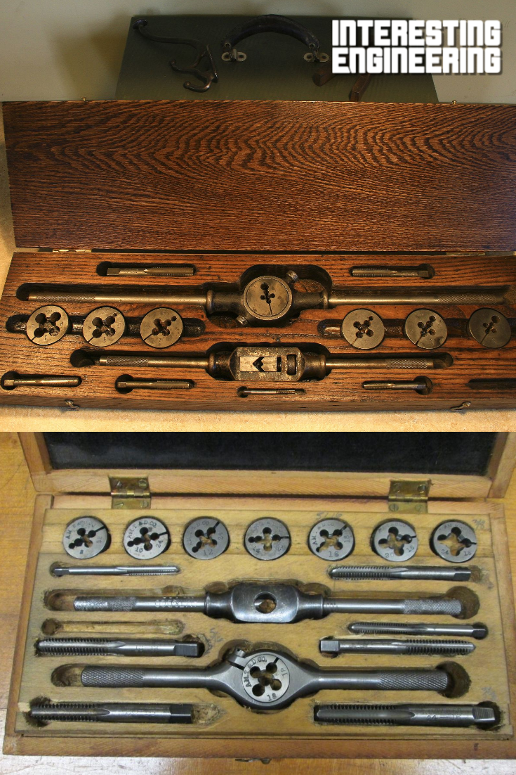 Restoring An Antique Tap And Die Set
