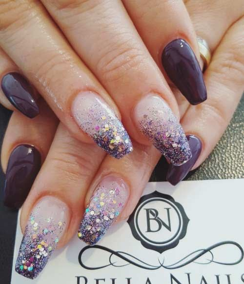 Pin by valrie on life is too short for bad manicure glitter nails prinsesfo Image collections