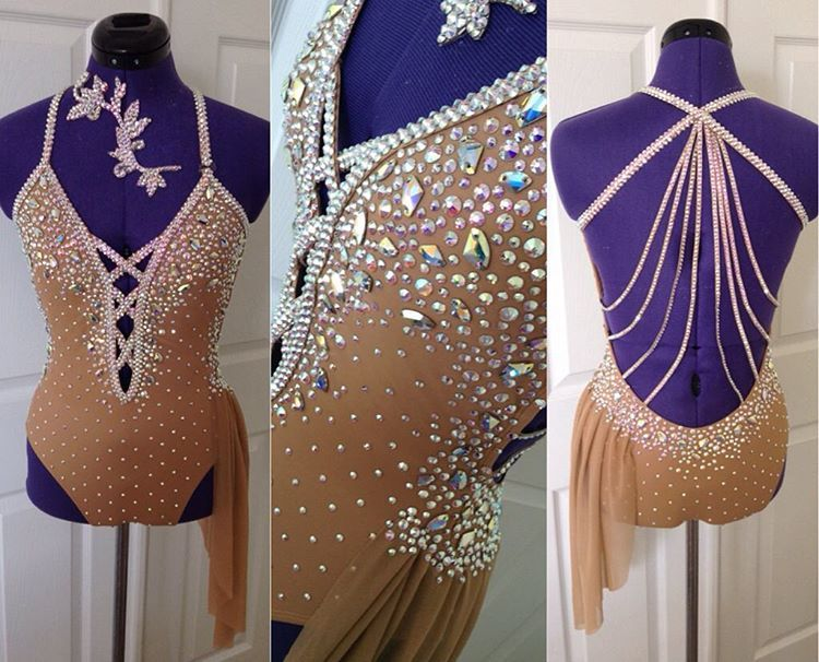 To Die For Costumes solo costume for Miss Everything, Abbi DiCenso of Krystie's Dance Academy! Love this girl ❤️ #todieforcostumes