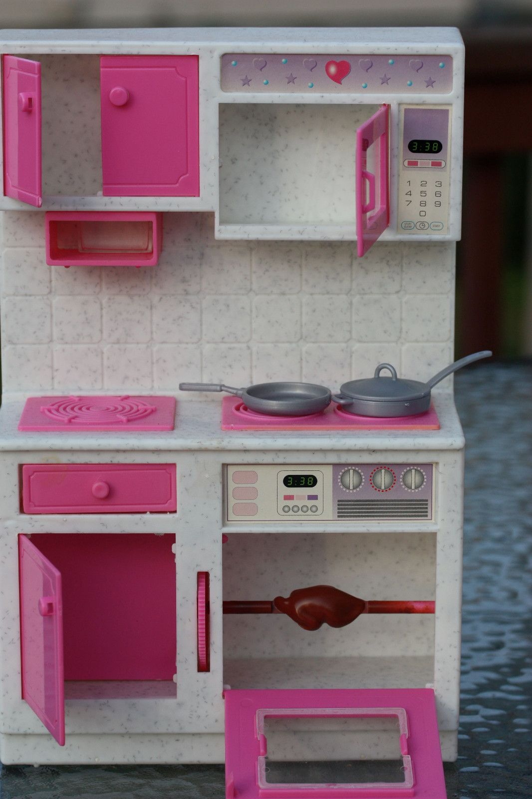 Barbie Kitchen Set With Accessories Barbie Furniture Play Sets