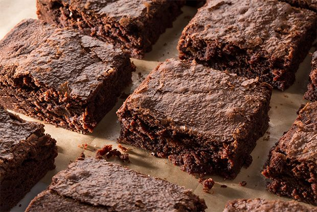 Fudgy Double-Chocolate Brownies recipe