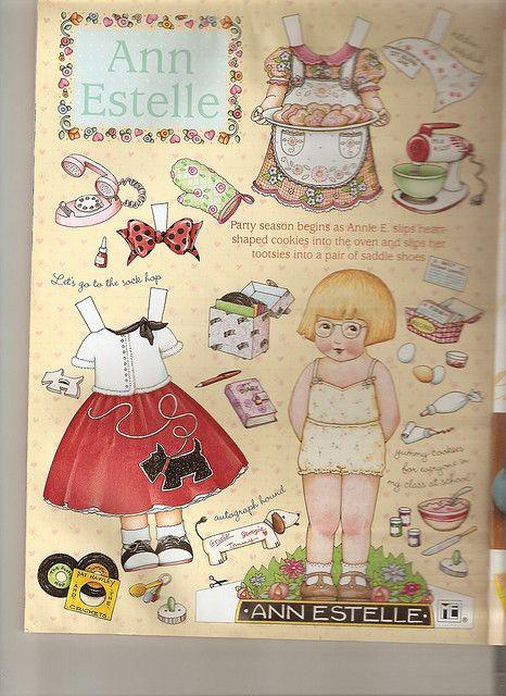 Paper doll by Ann Estelle