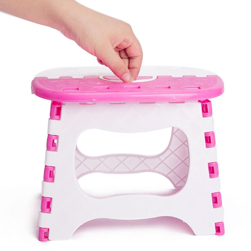 Portable Outdoor Thickening Adult Or Childrenu0027s Fishing Stool Bathroom Stool  Small Kitchen Step Stool Plastic Folding