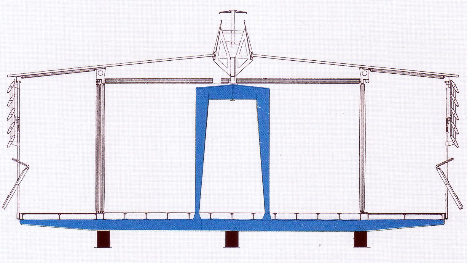 1951 maison pr fabriqu e type tropique 16x10 niamey secci n constructiva con los sistemas de. Black Bedroom Furniture Sets. Home Design Ideas