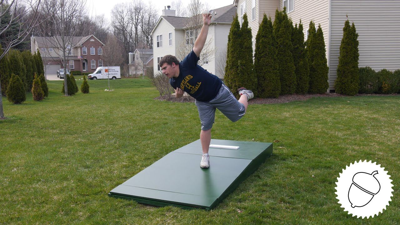 How to Build a Pitching Mound! Pitching mound, Portable