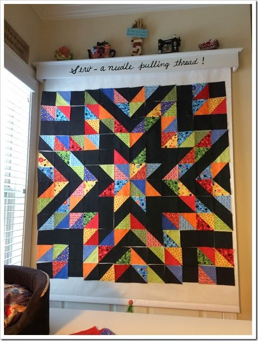 Aunt Polly S Porch Keeping Busy Quilt Design Wall Quilting Room Sewing Room Design