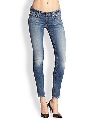 7 For All Mankind - The Skinny Ankle Jeans - Saks.com