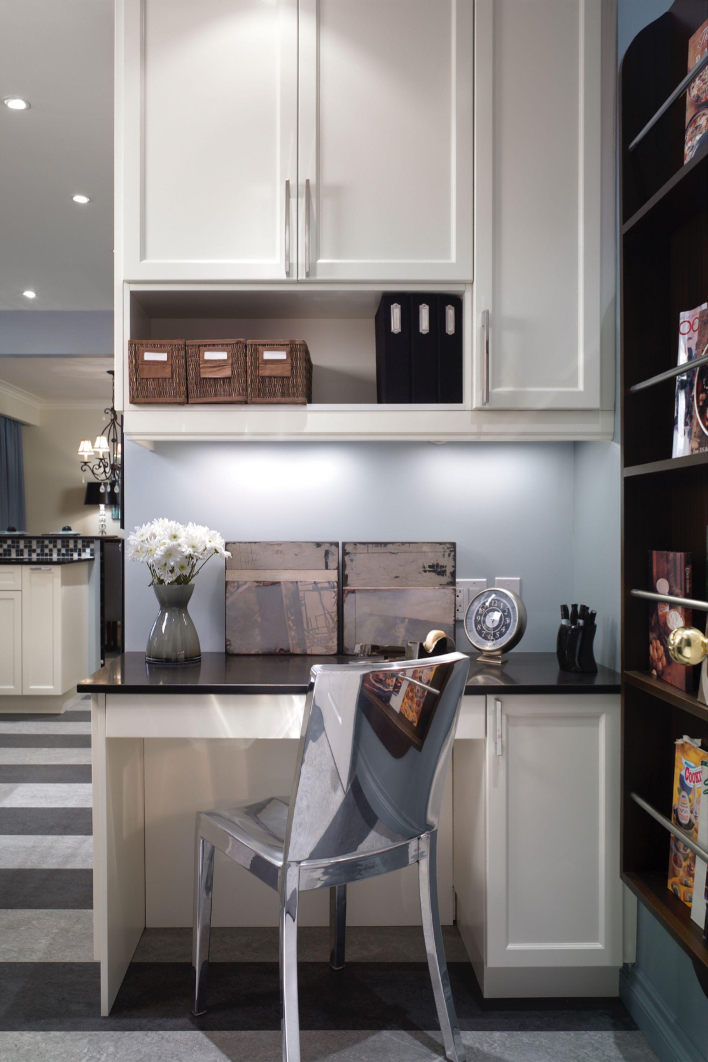 Candice Olson On Kitchen Desk Design In 2020 Classic Kitchen Design Kitchen Desks Desk Design