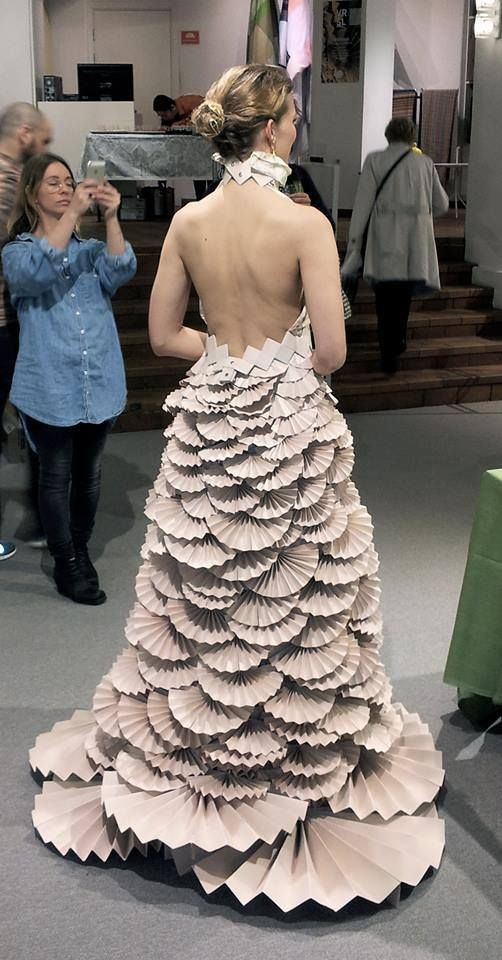 Recycled Dress