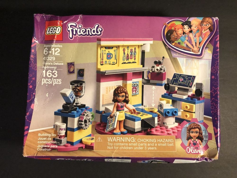 Lego Friends 41329 Olivias Deluxe Bedroom New In A