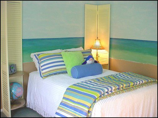 girls beach themed bedroom | beach+bedrooms-beach+bedroom+
