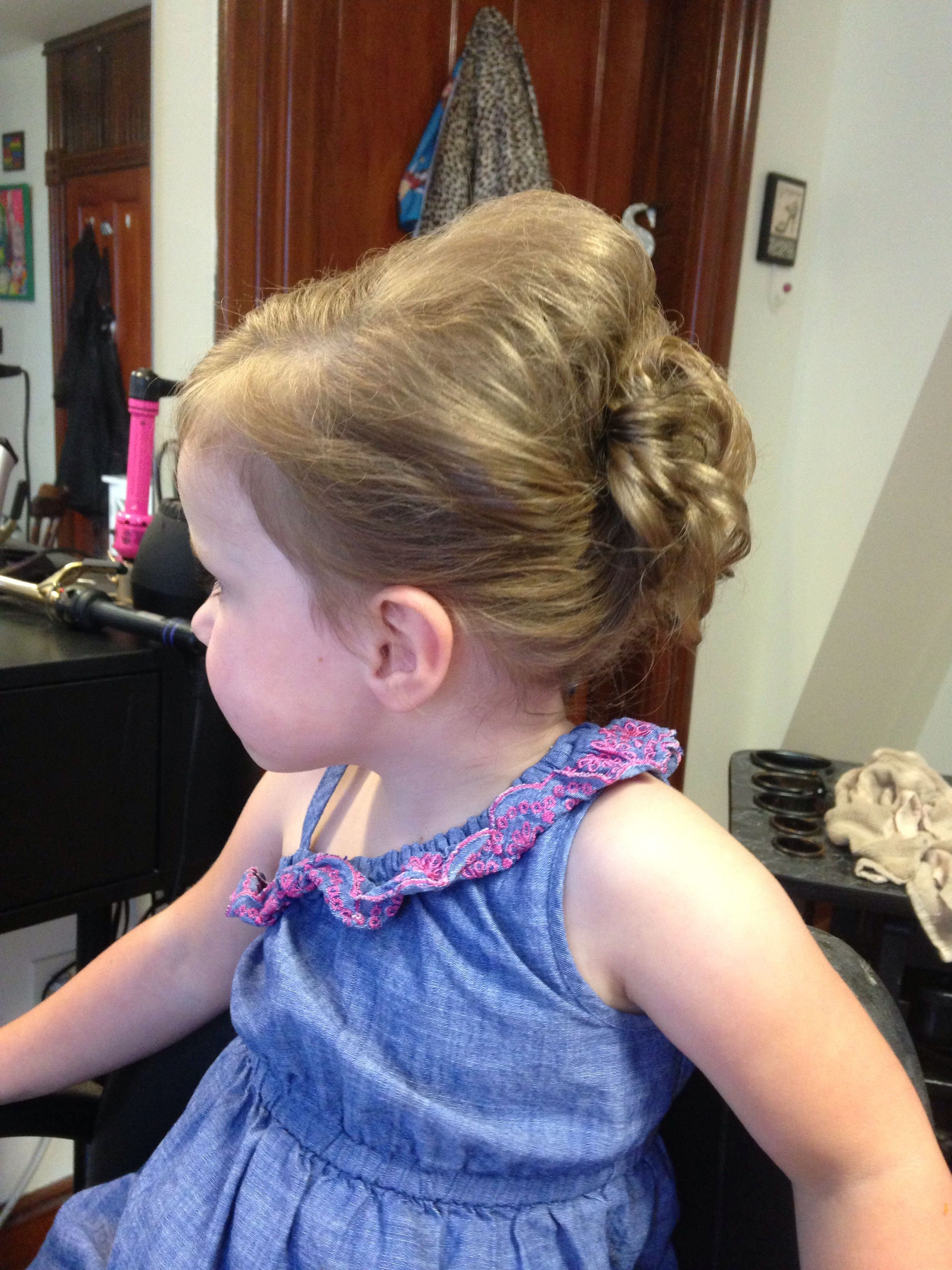 Toddler updo kids hair pinterest toddler updo updo and toddlers