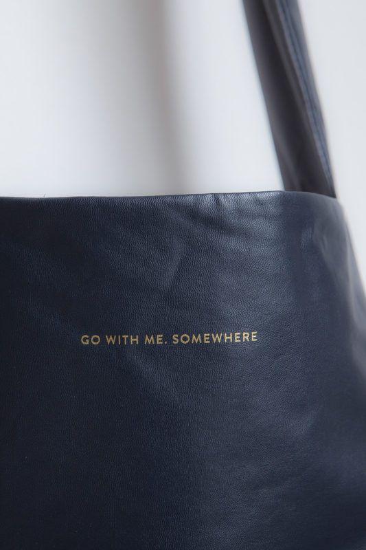 dark blue feel good bag tinne mia go with me somewhere  cbf5d9a854385