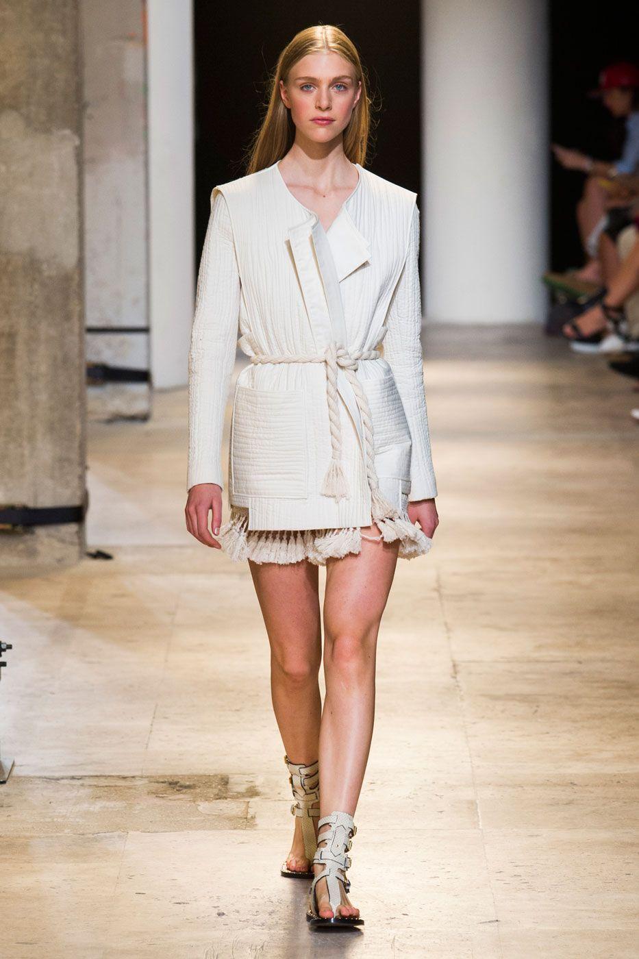 Isabel Marant - RTW - Spring 2015 - Runway Fashion Show | TheImpression.com