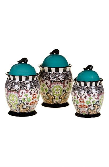 POETIC WANDERLUST Tracy Porter® For Poetic Wanderlust® 'Rose Boheme' Canisters (Set of 3) available at #Nordstrom
