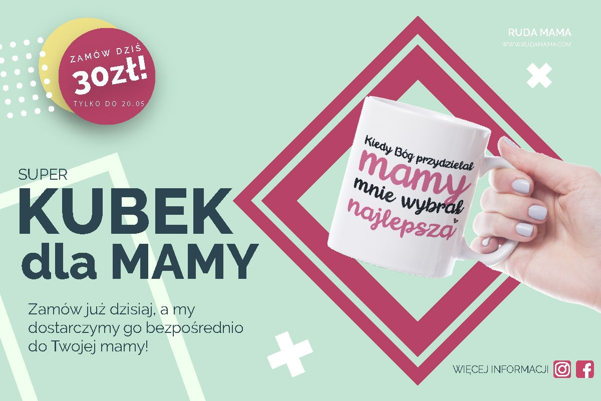 Kubek Na Dzien Mamy Dzien Mamy Mothers Day Gifts Tableware Glass