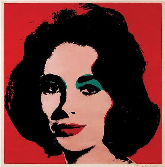 Andy Warhol  American Liz  Offset Color Lithograph  Andy Warhol  American Liz  Offset Color Lithograph Edition  Of   By Matsart Auctioneers  Appraisers