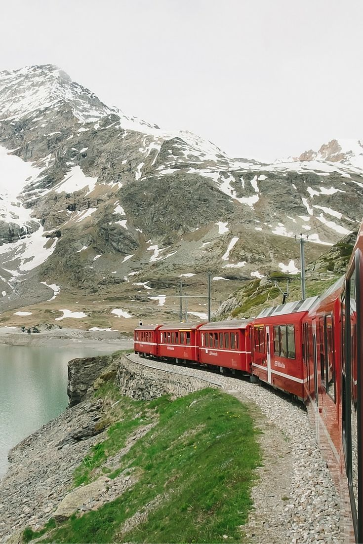 Bernina Pass - Check more photos in our blogpost about the Engadin St. Moritz! -Travel & Photography - All the Places you will go