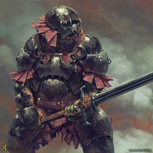heavy orc by markus neidelDigital Art Masters: Volume 5