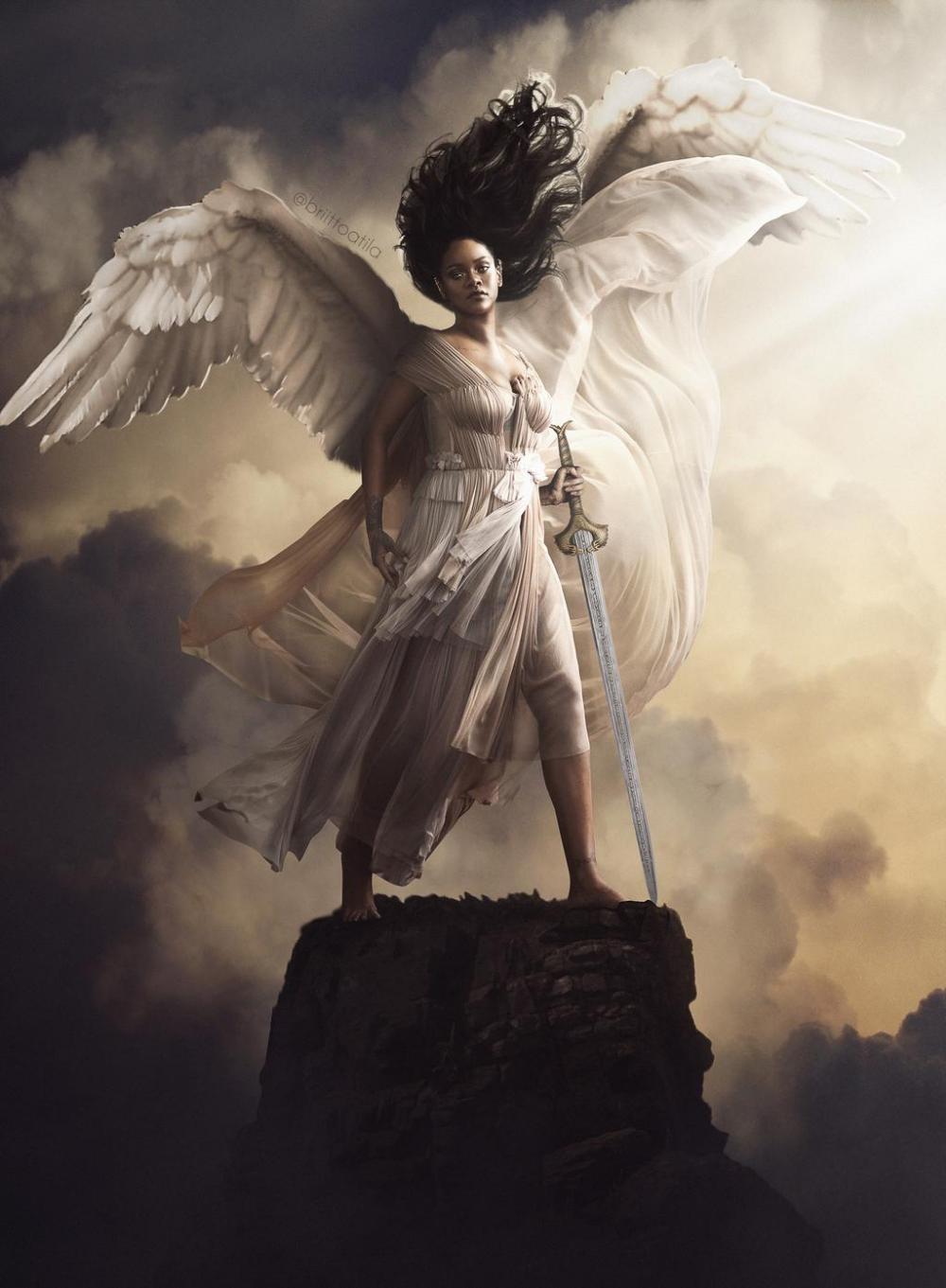 Guardian Angel By Brittoatila On Deviantart Black Women Art Female Art Guardian Angel Images