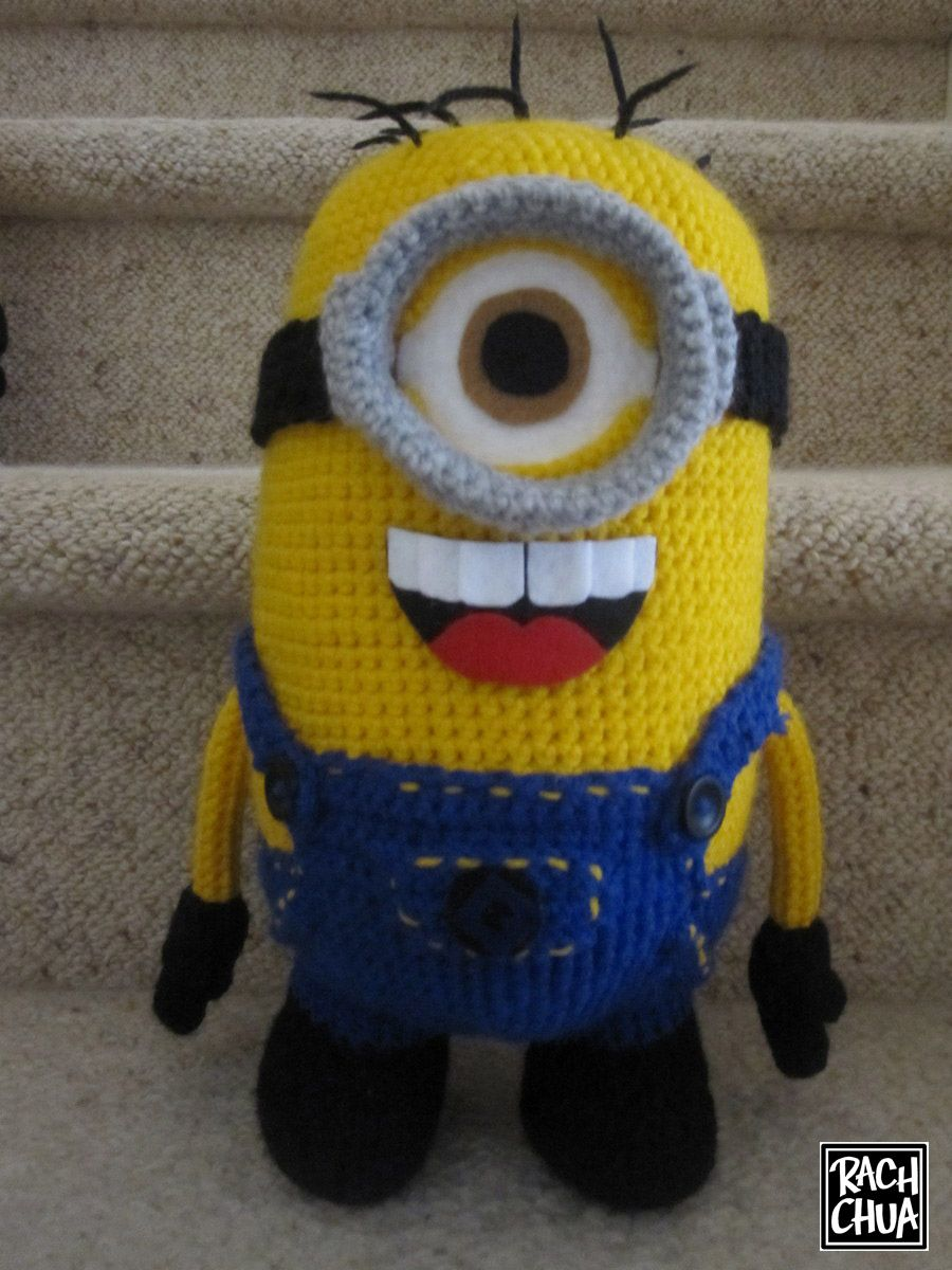 Minion mayhem template amigurumi and crochet who can resist a knitted minion dt1010fo