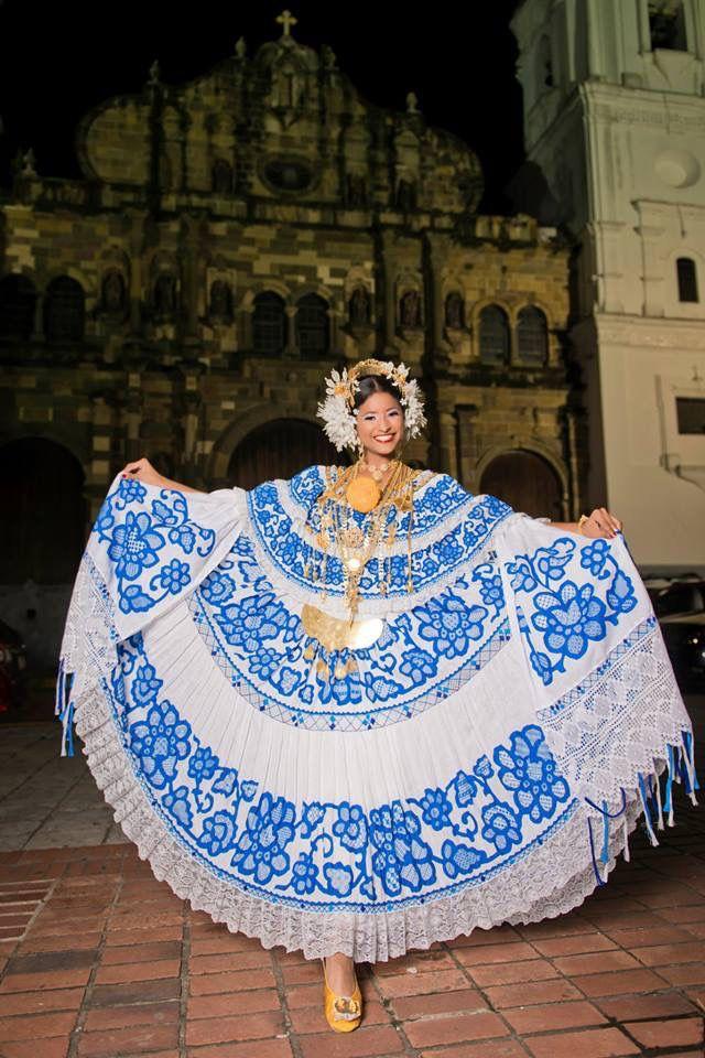 Preciosa Pollera Panama | Panama Culture | Pinterest | Panama