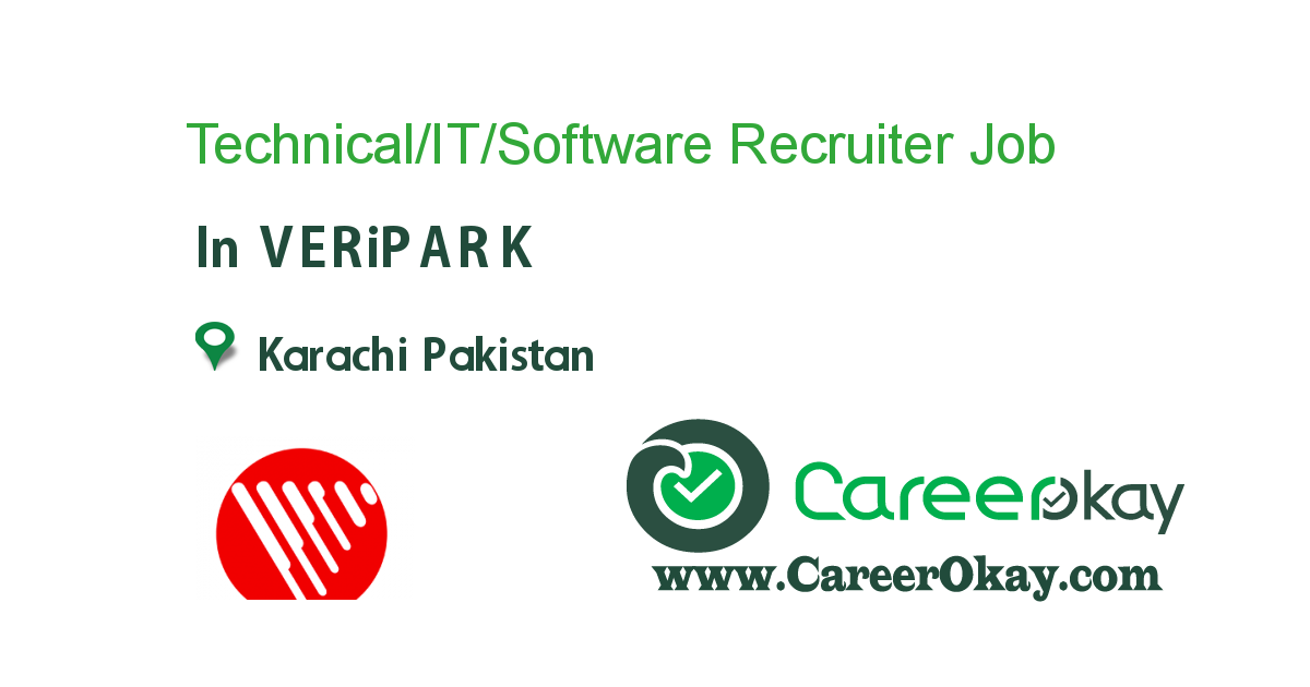 TechnicalItSoftware Recruiter  Jobs In Pakistan