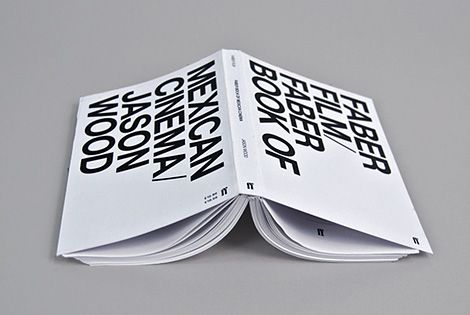 large text. black and white. bold. cover. layout